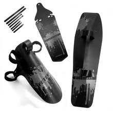 Bicycle Mudguard Set Cycling Accessory Bike Fenders Downtube/Front /Rear mud guard for MTB Road Bike Accessories 3 Pieces