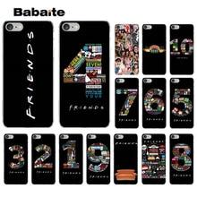 Babaite Friends Season TV digital Transparent Soft Shell Phone Cover for iPhone 7 7plus 6S 6plus 8 8Plus X Xs MAX 5 5S XR