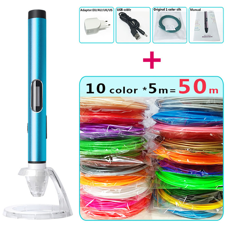 USB plug 3d printed pen 3d pens low temperature version ...