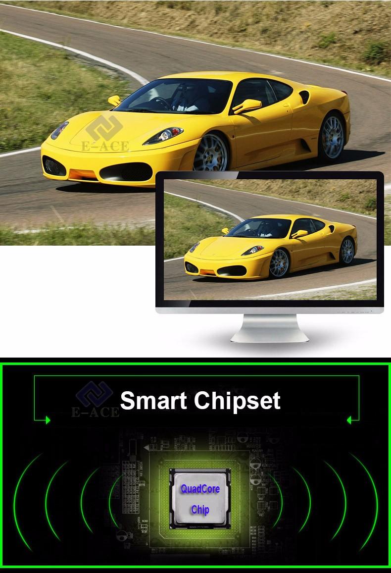 E-ACE Car Dvr WIFI DVRs Dual Camera Lens Registrator Dashcam Digital Video Recorder Camcorder Full HD 1080P 30FPS Night Version 14