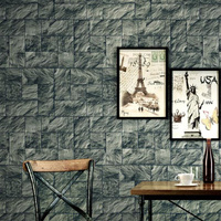 Gray 3D Stone Wallpaper For Walls Living Roll