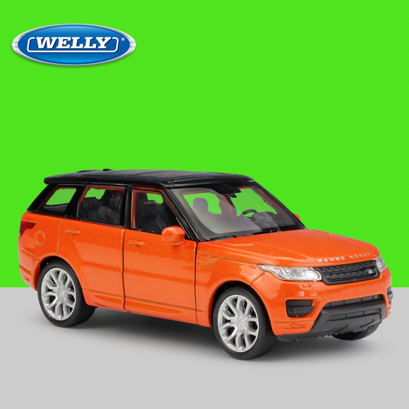1:36 Welly Range Rover Sport SUV Alloy Toys Pull Back Diecast Model Car