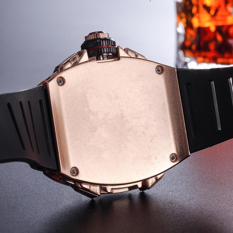 montres à quartz à la mode pour hommes