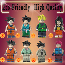 Única Venda Dragon Ball Z Sun Wufan Latiz Sun Wufan Tenente Arnold Figuras de Ação Building Blocks Toy Presente Chilren PG8169(China)