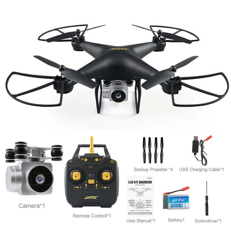 US $92 24 18% OFF|JJRC H68 Bellwether 2MP 720P HD Camera Drone WiFi FPV  20mins Flight Time RC Quadcopter RTF Mode 2 VS Bayangtoys X21 X16-in Camera