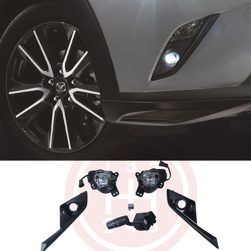 Led Fog Lights Lamp Kit For Mazda Cx 3 Cx 3 With Auto 2016