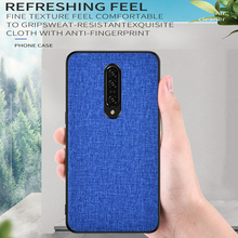 Sweatproof Phone Case For oneplus 6 6t 7 pro luxury classic Cloth cover coque for Lenovo S5 K5 Pro for Meizu 16x 16s note 9 case