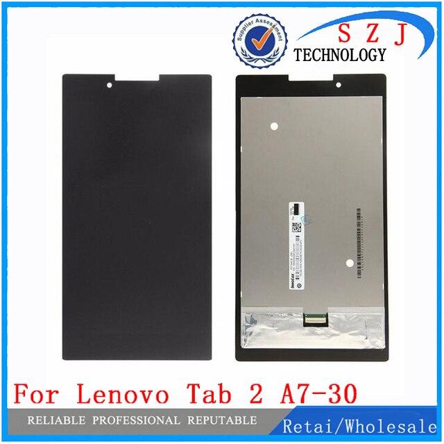 Новый 7 ''дюймовый Полный ЖК-Дисплей + Сенсорный Экран Digitizer Стекло Ассамблеи Для Lenovo Tab 2 A7-30 A7-30HC, бесплатная Доставка