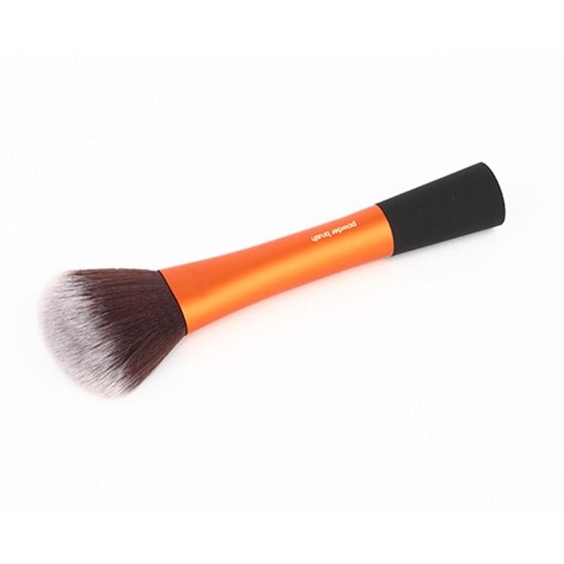 1PC Professional maquiagem gold makeup brushes Genuine Powder Brush With Original Box Beauty Essentials 4 pcs golden professional makeup brushes waistline sculpting brush set cosmetic tool maquiagem accessories with original box