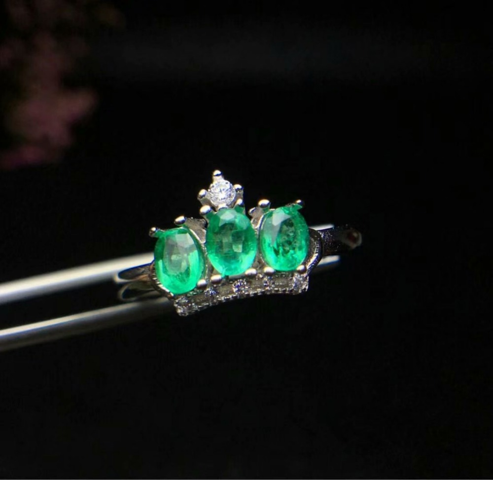 SHILOVEM 925 sterling silver Natural Emerald rings classic fine Jewelry women wedding women plant wholesale cj030402agml shilovem 925 sterling silver emerald stud earrings classic fine jewelry women wedding women gift wholesale jce040601agml