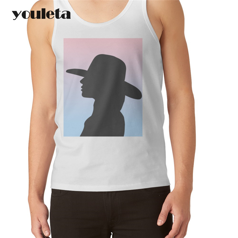 Lady Gaga Men tank tops vingtage style The printed Vest hipster o-neck casual basic men singlet