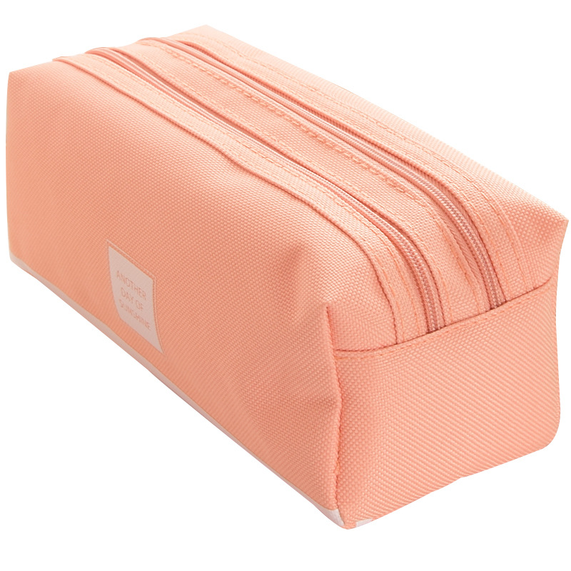 Pencil Case Trousse Scolaire Pink Ferace Cartuchera Para Lapices School Etui Kawaii Canvas Large Capacity Kalem Kutusu Newme Box