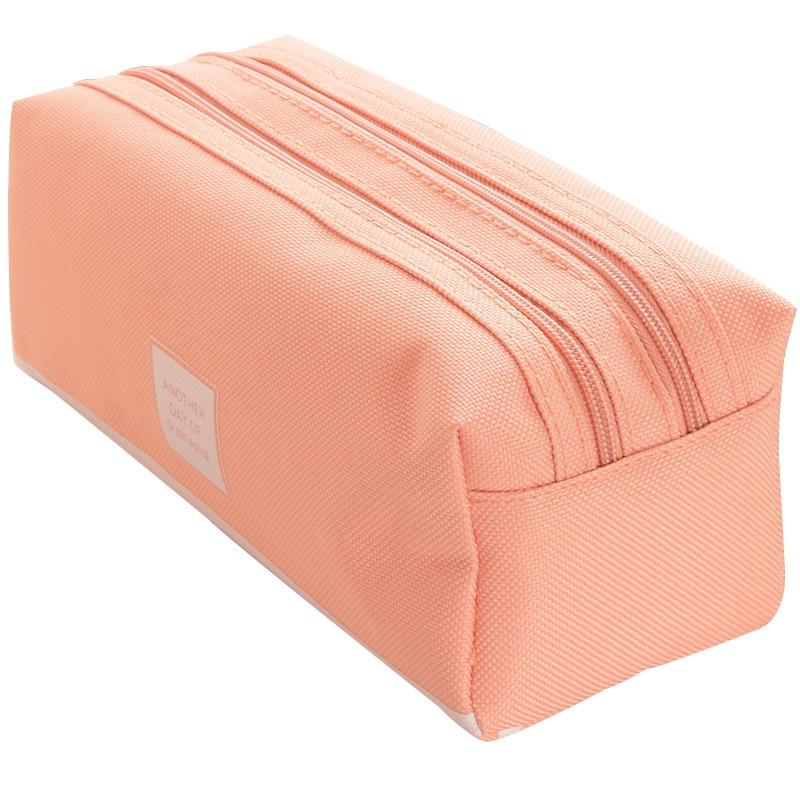 Pencil Case Trousse Scolaire Pink Ferace Cartuchera Para Lapices School Etui Kawaii Canvas Large Capacity Kalem Kutusu Newme Box