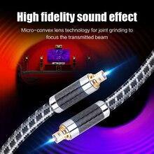 MOSHOU 3ft/6ft/9ft TosLink Fiber Optic Cable Digital Audio V