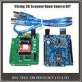 3D принтер части Ciclop 3d сканер с открытым исходным кодом DIY аксессуары, UNO и ZUM Сканирования плата Расширения комплекты