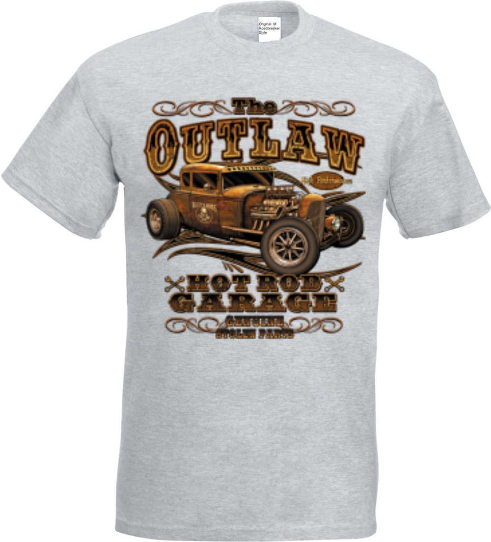 c1d8cdc59 T Camiseta en Ashton con un Hot Rod US Car   `50 Stylemotiv Modelo ...