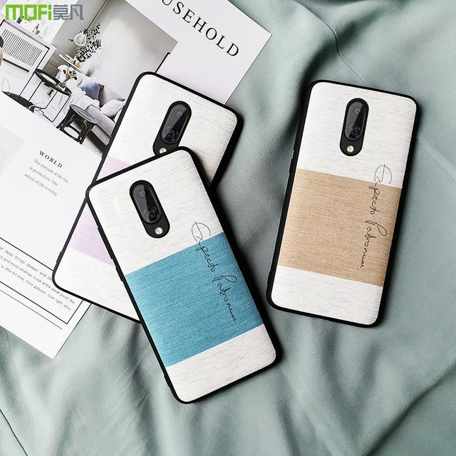 MOFi OnePlus 7 Pro Sponge Cotton Cloth Shockproof Back Case Cover