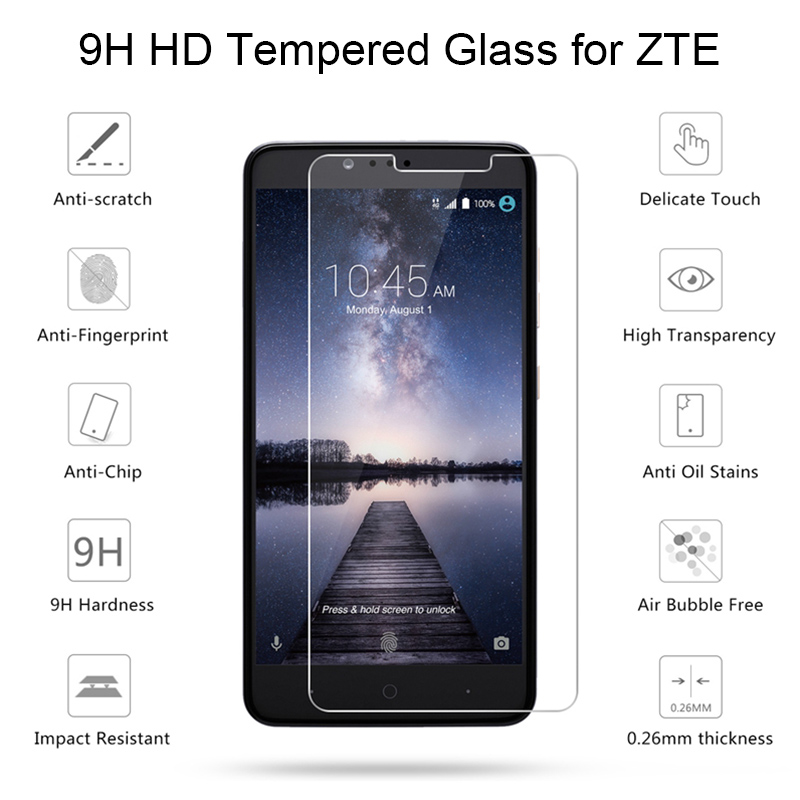 Toughed Screen Glass For ZTE Nubia M2 Lite N2 N3 V18 Tempered Glass For ZTE Nubia Z7 Max N1 Mini 9H HD Glass On Nubia Z9 Mini