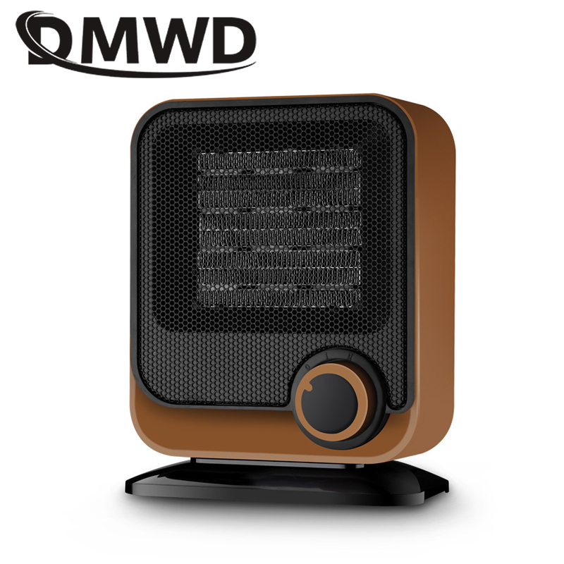 DMWD Household Office Mini Heater Energy Saving Bathroom waterproof Energy-Saving Electric heater Silent Roasting Stove 220V heater heater electric apparatus mini household energy saving fan use the bathroom