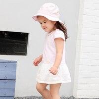 2017 Summer Spring 2 3 4 5 Years Girls Princess Dress Stripe Summer Dress Baby Girl