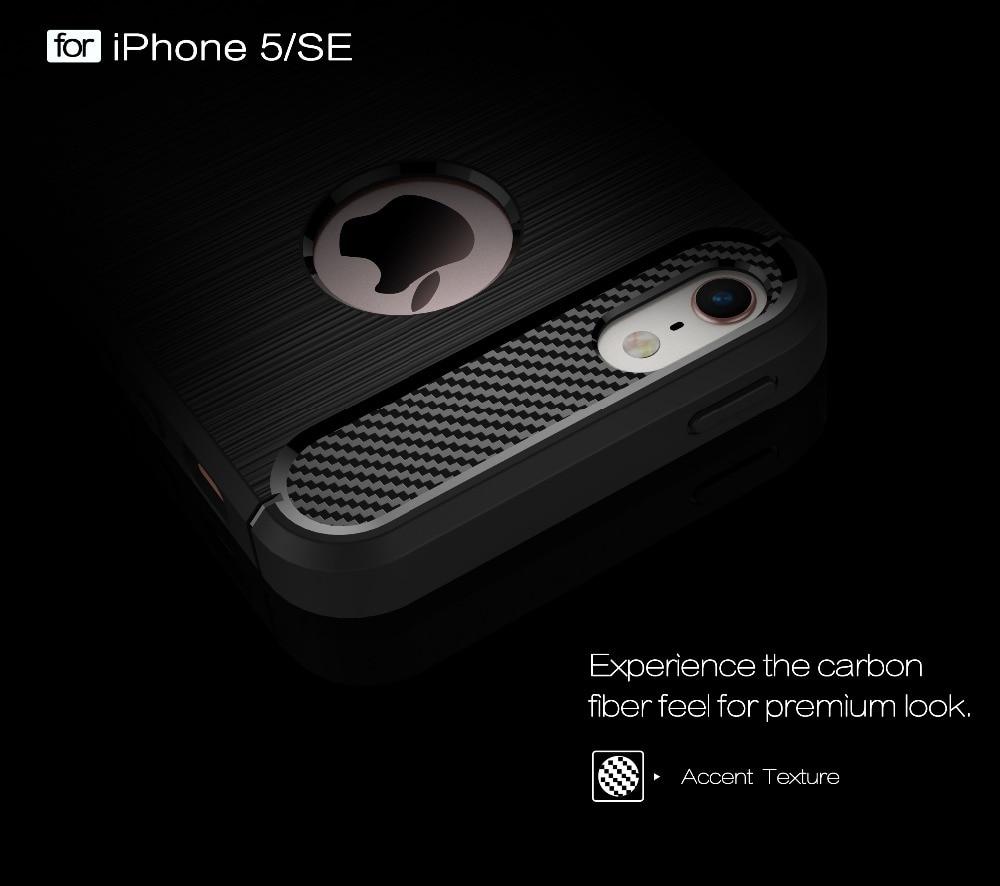 Ծածկոցներ iphone 5s- ի համար 6 6s 6s 7 Plus - Բջջային հեռախոսի պարագաներ և պահեստամասեր - Լուսանկար 6
