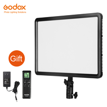 Godox LEDP260C 3300 ~ 5500 كيلو Led ثنائي اللون و عكس الضوء استوديو الفيديو الضوئي مصباح لوحة للكاميرا كاميرا فيديو DV + شحن AC محول