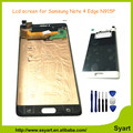 Qualidade aaa +++ para samsung galaxy note 4 edge n910 n910c lcd screen display toque digitador assembléia