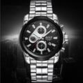 BOSCK - 3106, luxurious leisure men's watch, high-end quartz watches, calendar waterproof fashion watches, business brand watch