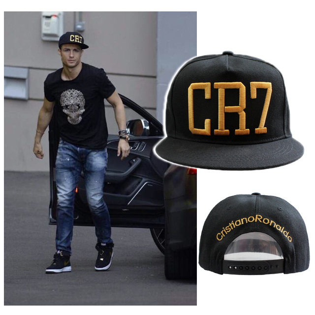 8d773bca2dd Newest Style Cristiano Ronaldo CR7 Hats Baseball Caps Hip Hop Caps Snapback  Hats for Men Women High Quality bone masculino