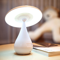 Mini USB Air Purifier LED Mushroom Lamp USB Anion Purifier Ozonizer Air Cleaner Air Ionizer Keep Air fresh with led Household