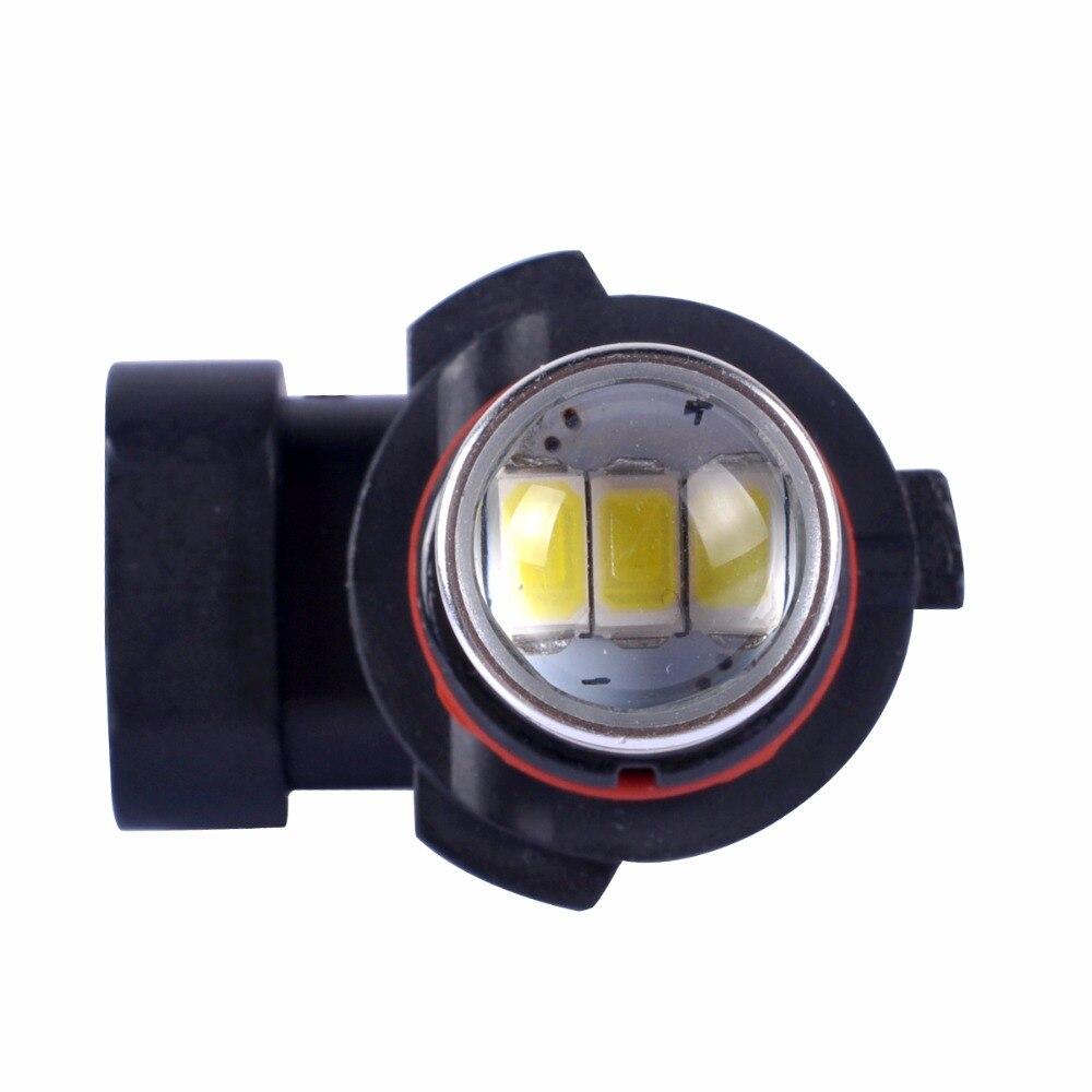 2fc4e77e89 √2 pcs 9005 HB3 5630 33 smd levou lente Luz de Circulação Diurna ...