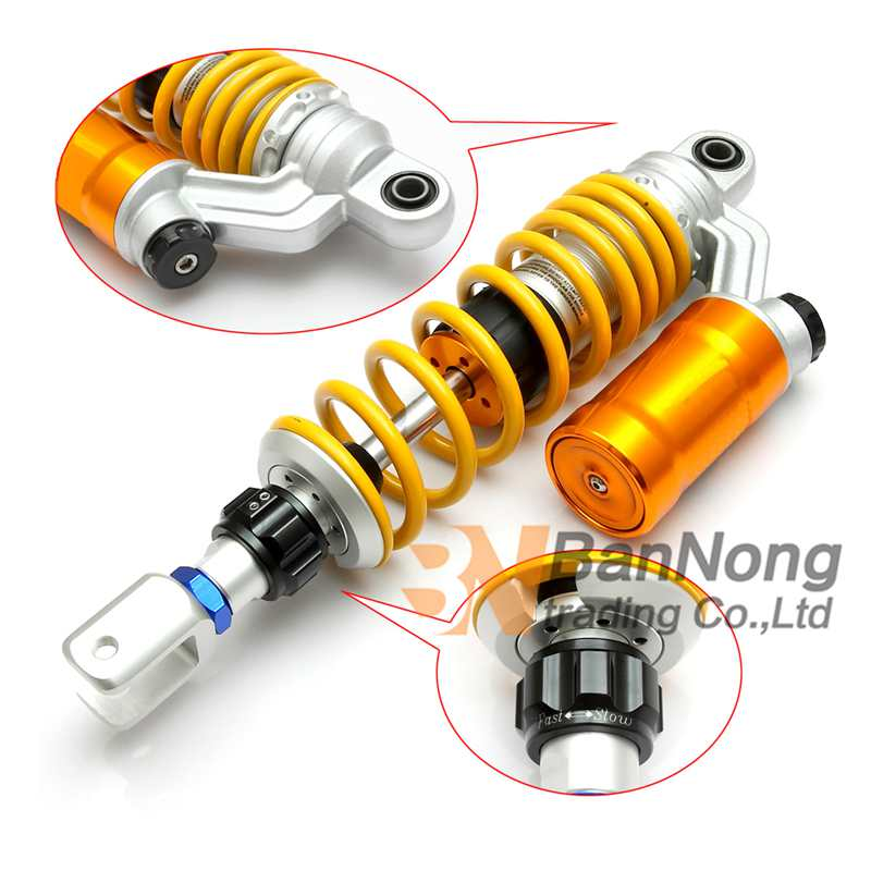 1XPCS free shipping 320mm 12 5 Motorcycle modified Adjust damping Nitrogen Shock Absorbers Rear Suspension For