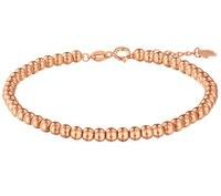 New Arrival AU750 Rose Gold Bracelet Beads Link Bracelet