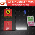 ZTE Nubia Z7 MAX Tempered Glass 100% High Quality Screen Protector Film Accessory For Cell Phone + Free shipping