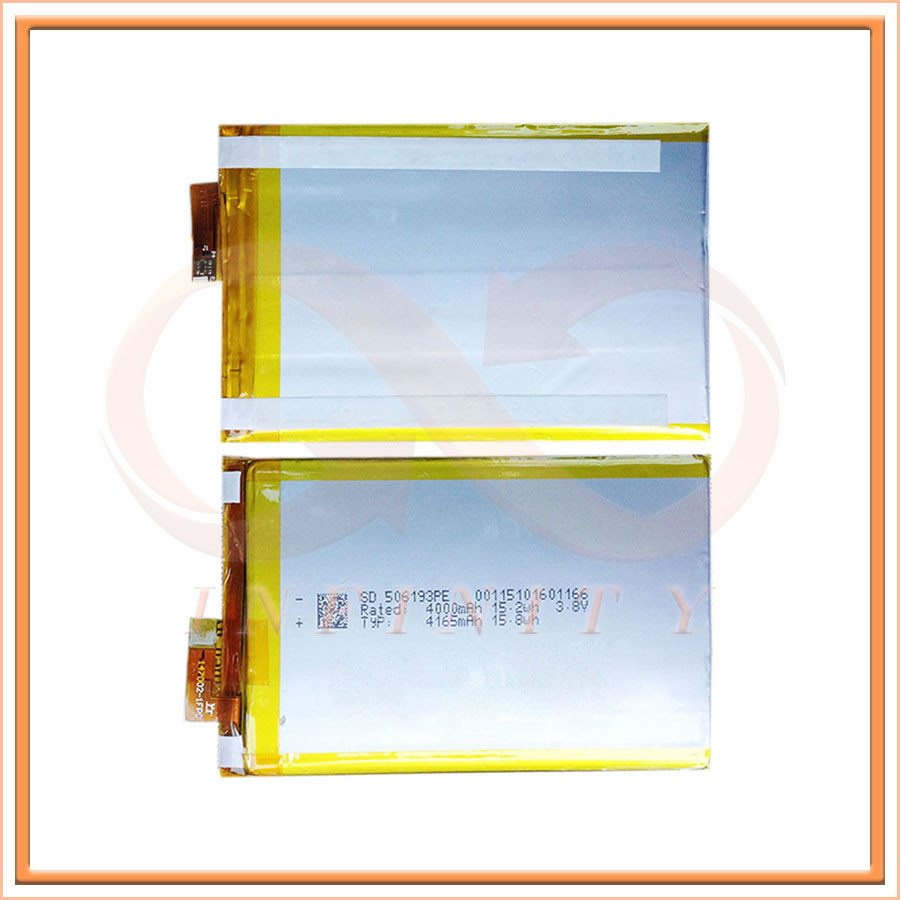 Wisecoco 2pcs/lot 4165mAh 3.8V for <font><b>Elephone</b></font> <font><b>P8000</b></font> <font><b>Battery</b></font> Cell Phone Repair Replacement Accessory