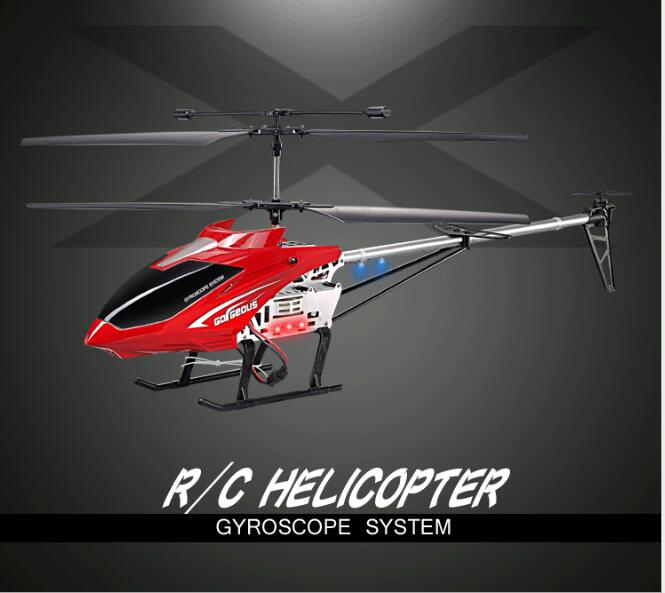 2018 new BIG 70CM Large alloy Remote Control Helicopter 65CM rc big helicopter Aerial UAV Crash resistant toy with Cool LED ight