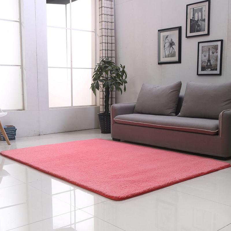 New High end Fashion Carpet Fluffy Rugs Thickening Simple Anti Skid ...