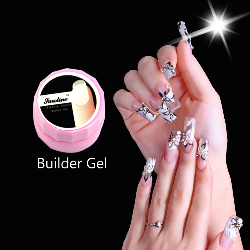 Brand Camouflage Uv Builder Gel Art French Nail Extension Soak Off Pink White