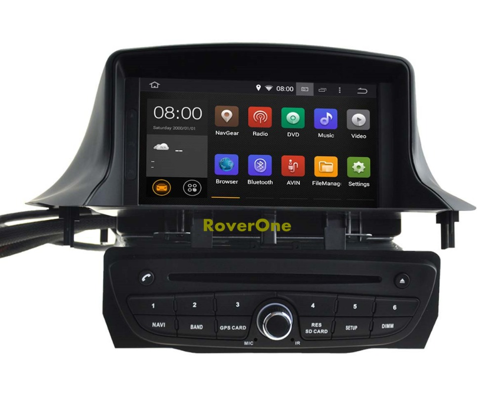 For Renault Megane III 3 Fluence Quad Core Android 5.1.1