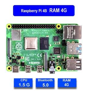 Image 2 - Raspberry pi 4 modelo b 4b oficial, com 1 / 2 / 4 gb de ram, 1.5ghz 2.4/5.0 ghz wifi bluetooth 5.0 caso cooling dissipador de calor fonte de alimentação