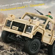 MN96 1/12 2.4G 4WD RC Car LED Light Climbing Off-Road Mini Car Vehicle Kids remote control car Toy carro de controle remoto goolrc rc car toy module sounds light simulated system for road grader climbing car suv remote control truck vehicle diy part