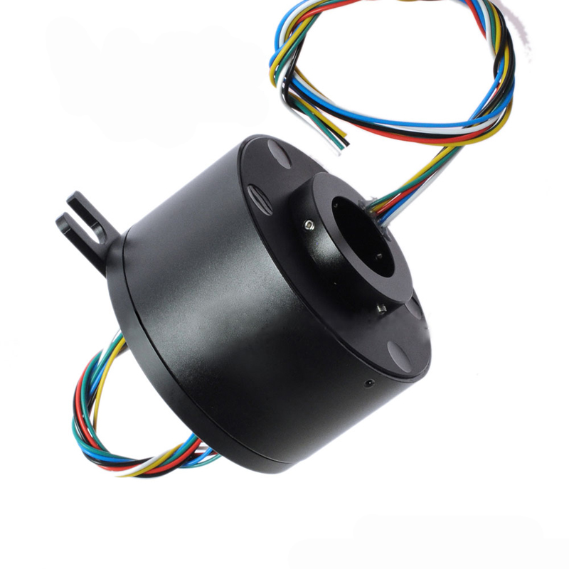 1PC 6 12 Channel 10A Hollow Shaft Slip Ring Through Hole 25mm Collecting Ring Outer Dia