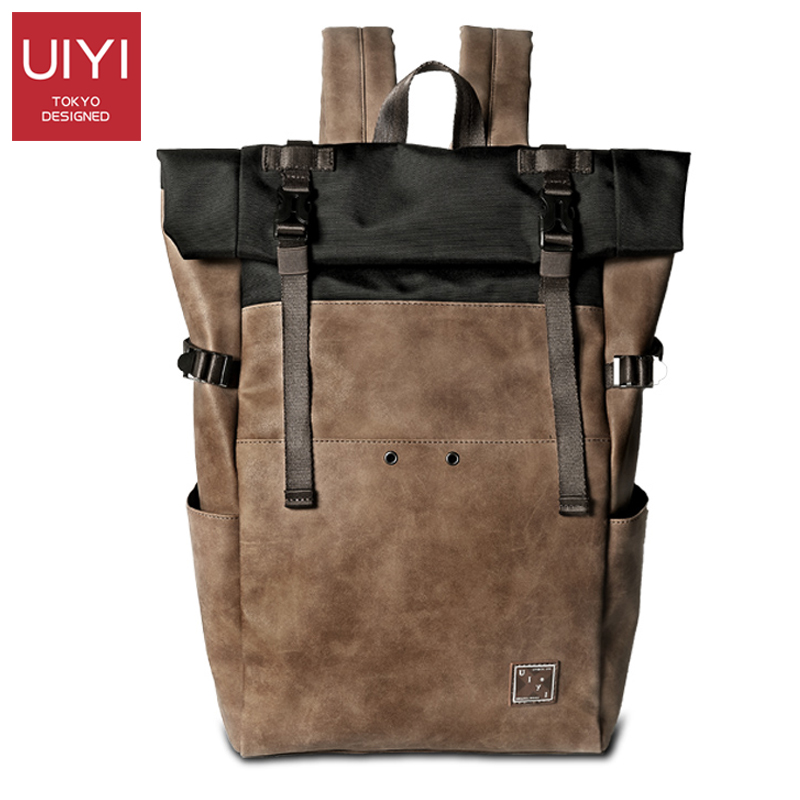 New Japanese version of the ancient book bag simple version of the backpack tide ins super fire backpack mens leisure travel bag(China)