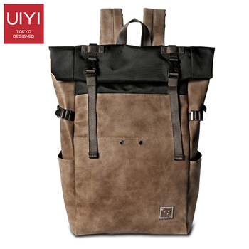 New Japanese version of the ancient book bag simple version of the backpack tide ins super fire backpack mens leisure travel bag simple canvas backpack japan and south korea version of the bag men s youth campus students travel shoulder bag