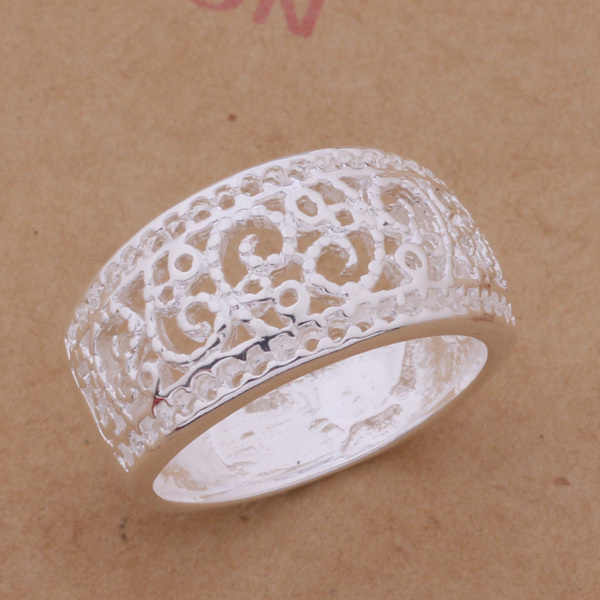 Groothandel Hoge Kwaliteit Verzilverd Fashion Sieraden Ringen WR-268