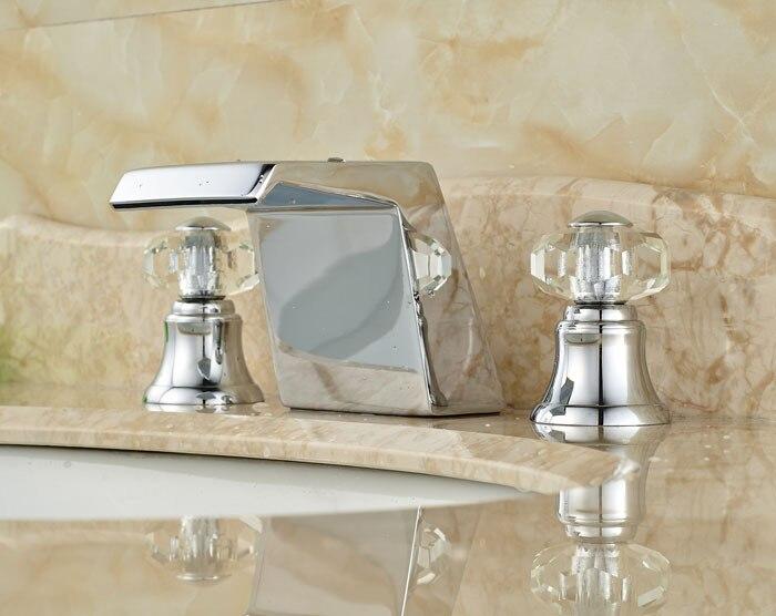Bathroom Faucets With Crystal Handles crystal bathroom faucet promotion-shop for promotional crystal