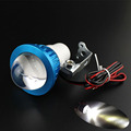 2016 New Hot 12-80V Universal bright LED Strobe motorcycle headlight Indicator Fish-eye lights Free Shipping&Wholesale