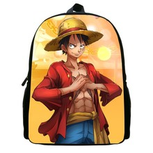 One Piece Luffy Backpack Bag for kids 12Inch