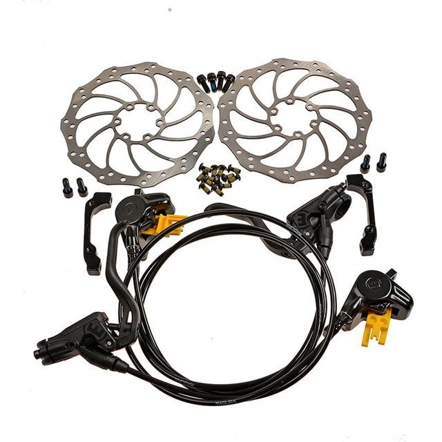 Magura MT2 Lightweight hydraulic brake bike brake/bicycle disc brake kit 750/1300mm hydraulic disc brake bike parts tektro 300 hydraulic disc brake