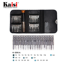 MultiFunction 25 in 1 Universal Torx Screwdriver Repair Tool Set For iPhone Cellphone Tablet PC kaisi 3310 Opening Tools Kit mini precision screwdriver set 25 in 1 electronic torx screwdriver opening repair tools kit for iphone camera watch tablet pc